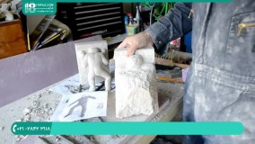 نحوه سنگ تراشی مجسمه سنگی