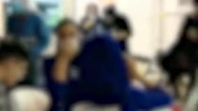 افتتاح نمایشگاه ورزشی توسط وزیر ورزش با حضور دختران بد حجاب