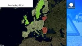 حوادث مرگبار در جاده های اروپا