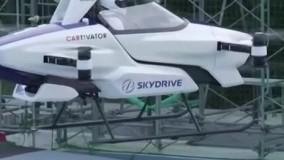 پرواز موفق اولین خودروی پرنده شرکت تویوتا