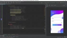 آموزش طراحی رابط کاربری و تجربه کاربری در اندروید UI/UX - جلسه 12 رایگان