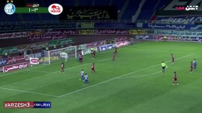خلاصه بازی استقلال 2 - تراکتور 3