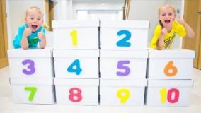گبی و الکس : آموزش اعداد ۱ تا ۱۰