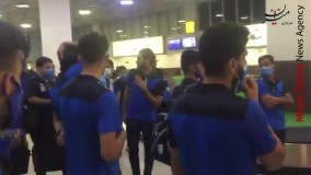 خداحافظی فرهاد مجیدی با بازیکنان استقلال