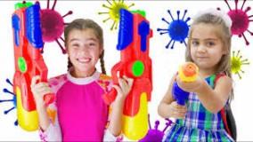 ناستیا و میا ؛ داستان ویروس ها برای بچه ها