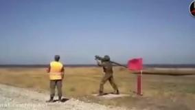 حادثه وحشتناک هنگام تمرین نظامی