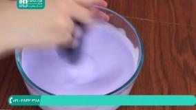 طریقه ی ساخت اسلایم با مواد شوینده