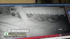 اولین تصاویر زلزله ۵.۱ ریشتری رامیار گلستان
