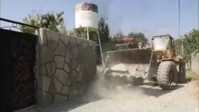 تخریب 60 ویلای میلیاردی غیر مجاز در ملارد
