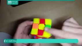 راحتترین روش برای حل مکعب روبیک