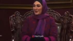 شوخی مهران مدیری با الهام حمیدی در دورهمی