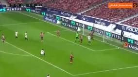 خلاصه بازی اتلتیکو مادرید ۲ - سویا ۰