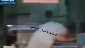 حرکات زننده یک شاگرد نانوایی در تهران