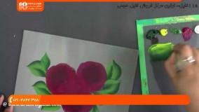 استفاده از رنگ اکرلیک برای نقاشی روی پارچه