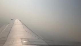شدت آلودگی هوای تهران از کف تا بام آسمان