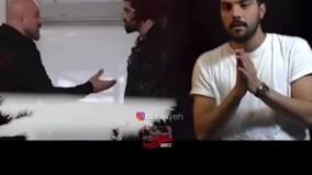 سخت ترین سکانس سینا مهراد در سریال آقازاده