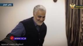 تصاویر منتشر نشده از آخرین دیدار سید حسن نصرالله و شهید سلیمانی