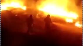 آتش سوزی در جنگلهای سرسبز گیلان