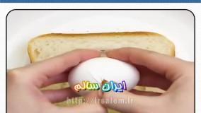آشپزی متفاوت با تخم مرغ! (قسمت ششم)