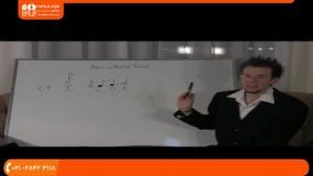 آموزش تئوری موسیقی این درس نتهای غیرهارمونی (غیرآکوردی)