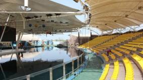 حقانی 09380039391-زیباترین پوشش سقف استادیوم ورزشی- سایبان پارک دلفین ها