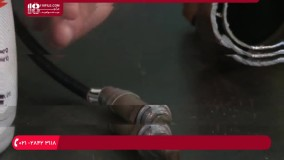 آموزش  تعمیر اگزوز خودرو و عیب یابی حسگر اکسیژن اگزوز