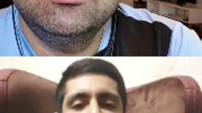 لایو اینستاگرام آرش سروری و پرسش و پاسخ از امید فدوی