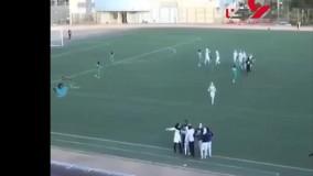 حرکت منشوری مرد اورژانس در فوتبال زنان ایران