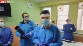 صحبت های تیم پزشکی مهرداد میناوند