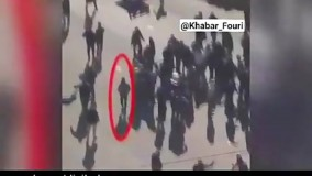 تصاویری از عامل انتحاری انفجار دوم بغداد ، دقایقی قبل از انفجار