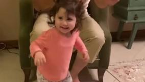 رقص گیلکی دختر خردسالِ شاهرخ  استخری
