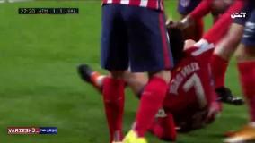 خلاصه بازی اتلتیکو مادرید ۳ - والنسیا ۱