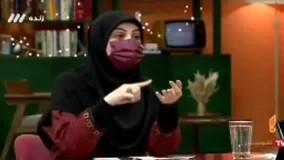 حریرچی خطاب به مجری خانم : دوست های نابابی داری !