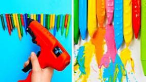 35 ترفند و خلاقیت هنری برای ساخت دکوری های خاص و نقاشی دیوار