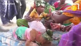 مراسم عجیب در هندوستان