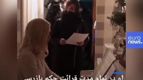 پزشک مخالف پوتین هنگام دستگیری پیانو نواخت
