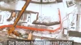 انفجار کنترل شده چهار بمب غول پیکر از دوران جنگ جهانی دوم