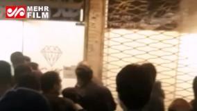 محل سرقت مسلحانه در سیرجان