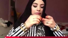آموزش بستن شال و روسری به صورت حجاب