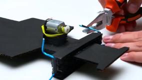 کار دستی ساخت ماشین جیپ کارتنی