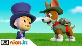 کارتون سگ های نگهبان - نجات بچه با ادب