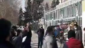 تجمع امروز سهامداران مقابل ساختمان بورس