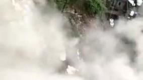 ریزش ساختمان در هند