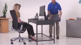 ارگونومی نشستن پشت میز کامپیوتر