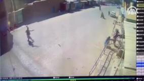 لحظه ورود عوامل انتحاری به مسجد شیعیان افغانستان