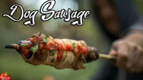 کباب سوسیس خانگی به همراه سس گوجه فرنگی | آشپزخانه آلمازان