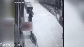 لحظه دلخراش زیر گرفتن کودک توسط خودرو