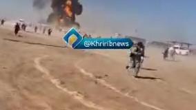 آتش سوزی گسترده در مرز افغانستان با ایران