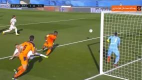 خلاصه بازی رئال مادرید ۲ - والنسیا ۰