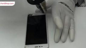 آموزش تعویض تاچ اسکرین ایسوس زنفون 3 مکس - فونی شاپ
